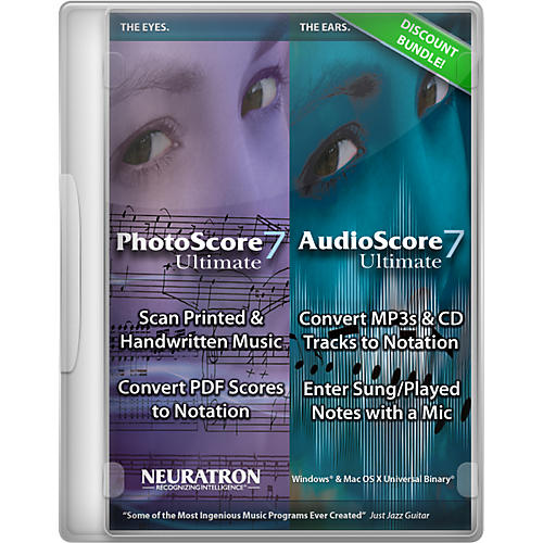 Sibelius Photo/AudioScore Ultimate 7