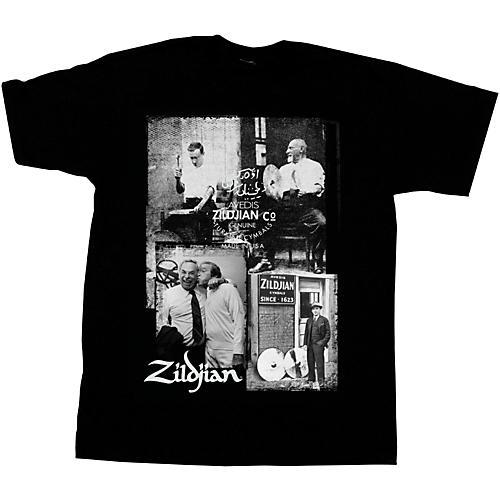 Zildjian Photo Real T-Shirt Black X-Large
