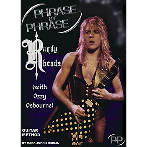 MJS Music Publications Phrase By Phrase Guitar Method - Randy Rhoads (with Ozzy Osbourne)