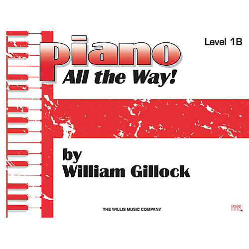 Willis Music Piano - All the Way! Level 1B Willis Series by William Gillock (Level Elem)-thumbnail