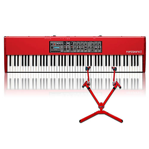 Nord Piano 2 HA88 with Matching 2-Tier Keyboard Stand