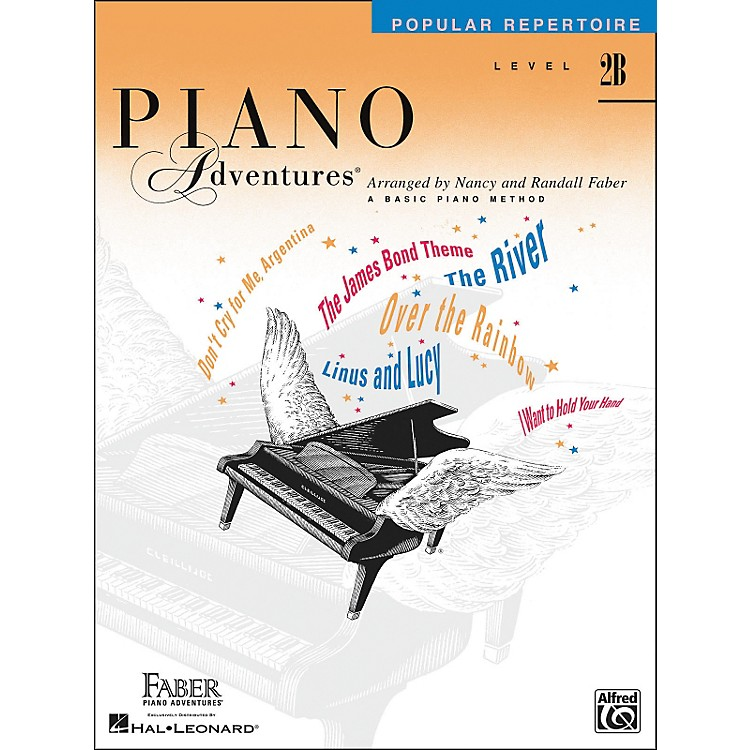 Faber MusicPiano Adventures - Popular Repertoire Level 2B - Faber Piano