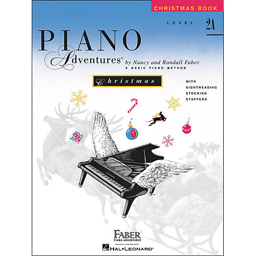 Faber Piano Adventures Piano Adventures Christmas Book Level 2A - Faber Piano
