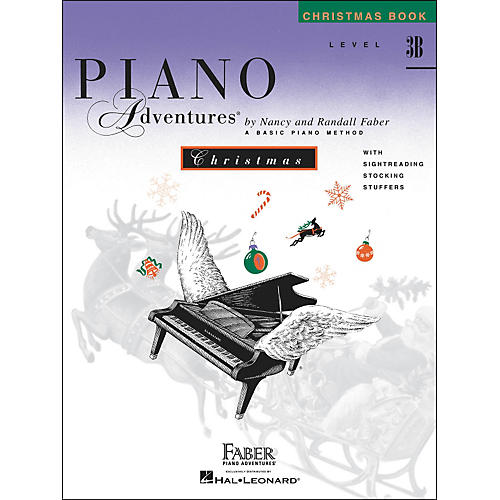 Faber Piano Adventures Piano Adventures Christmas Book Level 3B - Faber Piano