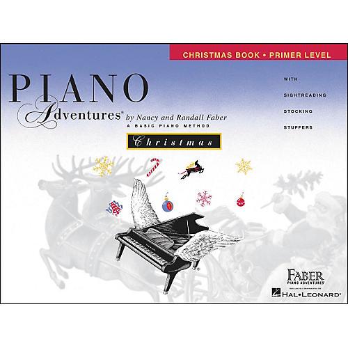 Faber Piano Adventures Piano Adventures Christmas Book Primer Level - Faber Piano-thumbnail