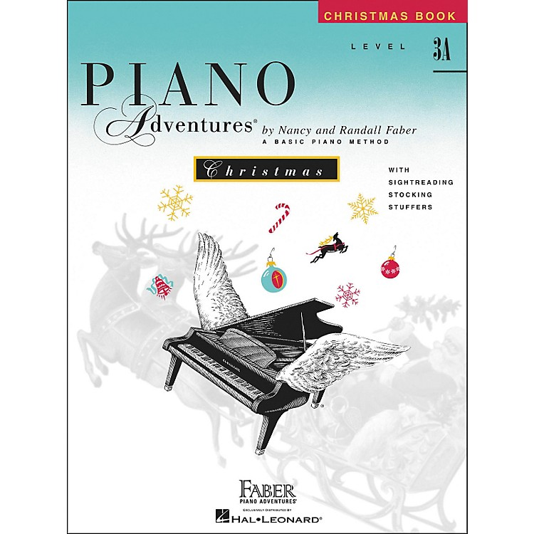 Faber Piano AdventuresPiano Adventures Christmas Level 3A - Faber Piano