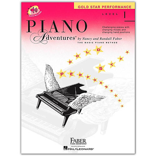 Faber Piano Adventures Piano Adventures Gold Star Performance Level 1 - Faber Piano (Book/Online Audio)-thumbnail
