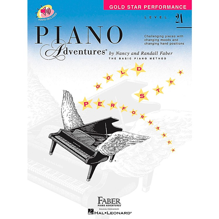 Faber Music Piano Adventures Gold Star Performance Level 2A Book/CD - Faber Piano