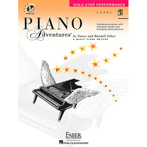 Faber Piano Adventures Piano Adventures Gold Star Performance Level 2B Book/CD - Faber Piano