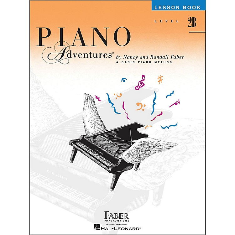 Faber Music Piano Adventures Lesson Book Level 2B