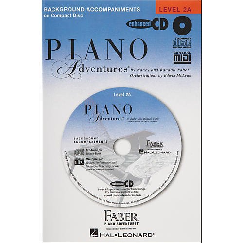 Faber Piano Adventures Piano Adventures Lesson CD for Level 2A - Faber Piano
