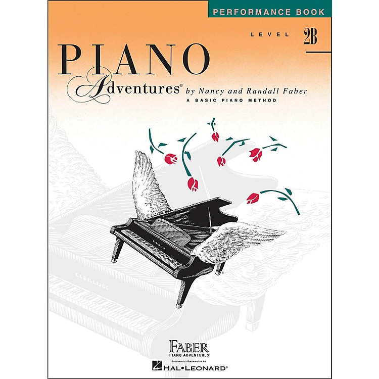 Faber MusicPiano Adventures Performance Book Level 2B