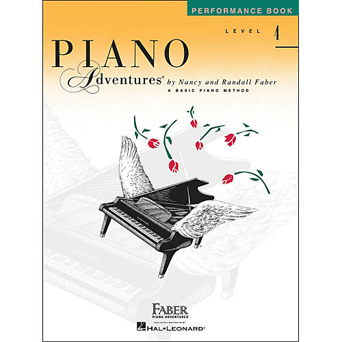 Faber Piano Adventures Piano Adventures Performance Book Level 4