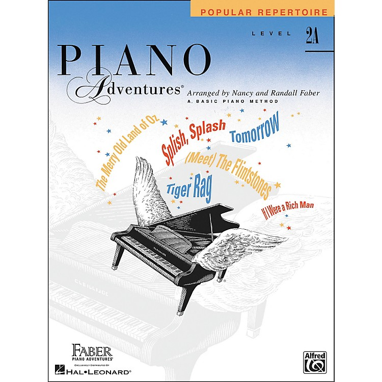 Faber Music Piano Adventures Popular Repertoire Level 2A - Faber Piano