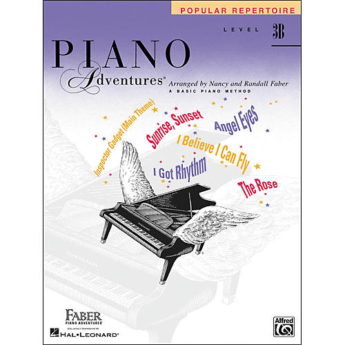 Faber Piano Adventures Piano Adventures Popular Repertoire Level 3 B - Faber Piano-thumbnail