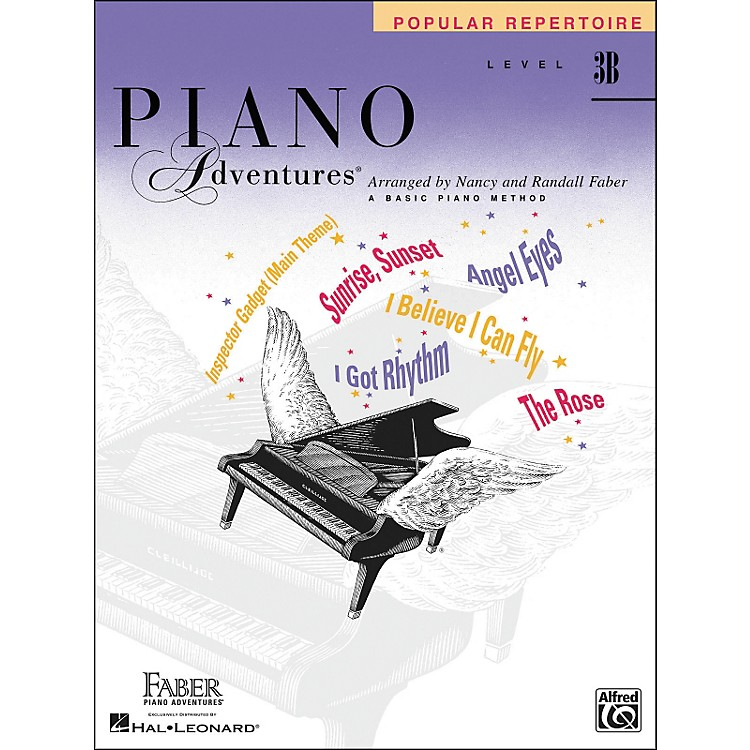 Faber MusicPiano Adventures Popular Repertoire Level 3 B - Faber Piano