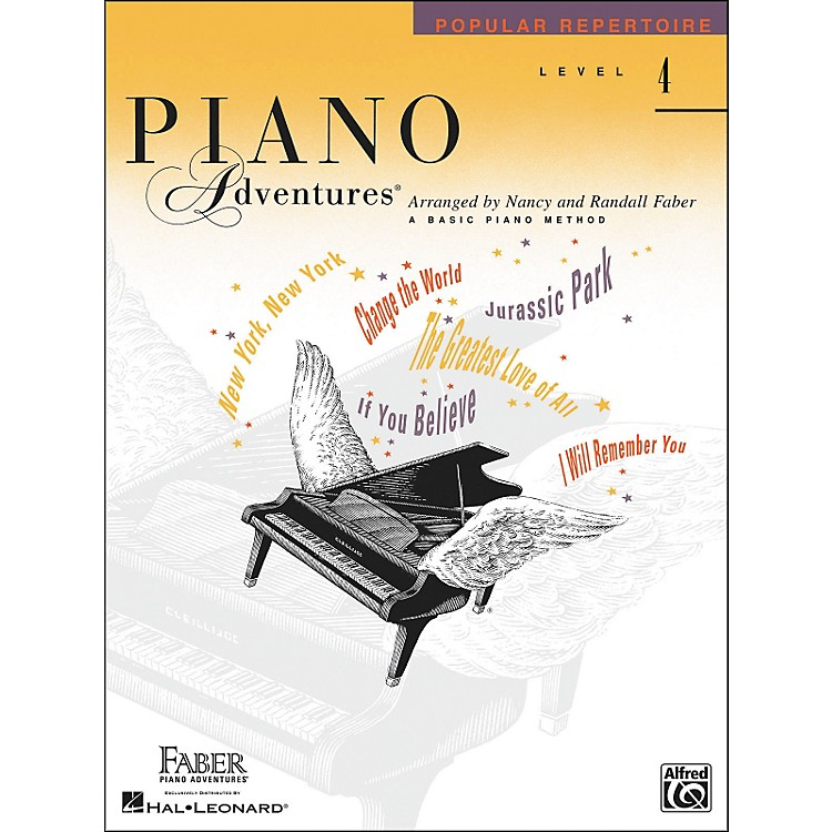 Faber Piano Adventures Piano Adventures Popular Repertoire Level 4 - Faber Piano
