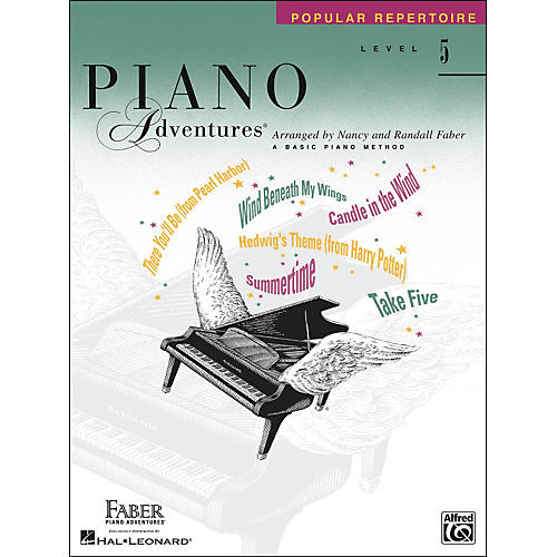 Faber Piano Adventures Piano Adventures Popular Repertoire Level 5 - Faber Piano-thumbnail