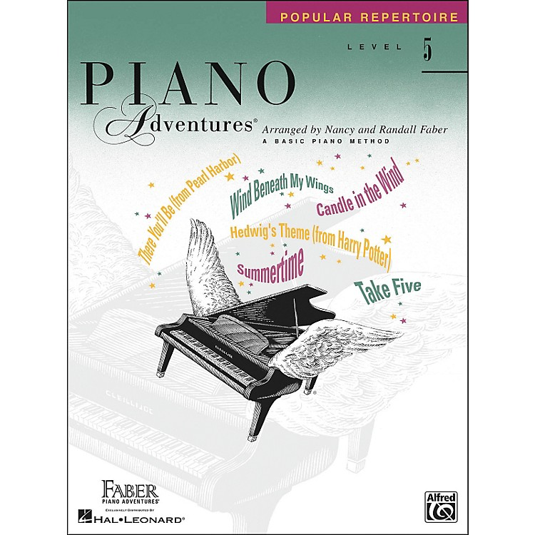 Faber Music Piano Adventures Popular Repertoire Level 5 - Faber Piano