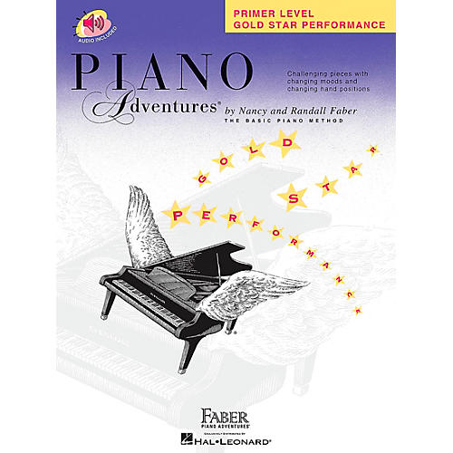 Faber Piano Adventures Piano Adventures Primer Level Gold Star Performance Book/CD - Faber Piano