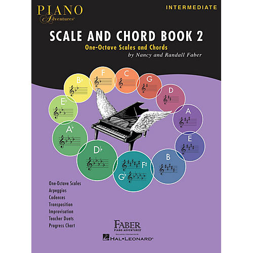 Faber Piano Adventures Piano Adventures Scale and Chord Book 2 Faber Piano Adventures® Series Softcover Written by Randall Faber