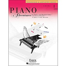 Faber Piano Adventures Piano Adventures Technique & Artistry Book Level 1
