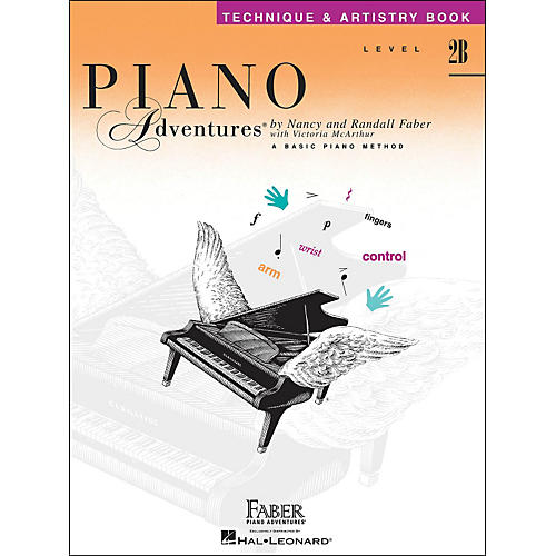 Faber Piano Adventures Piano Adventures Technique & Artistry Book Level 2B-thumbnail