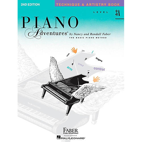 Faber Piano Adventures Piano Adventures Techniques And Artistry Book Level 3A-thumbnail