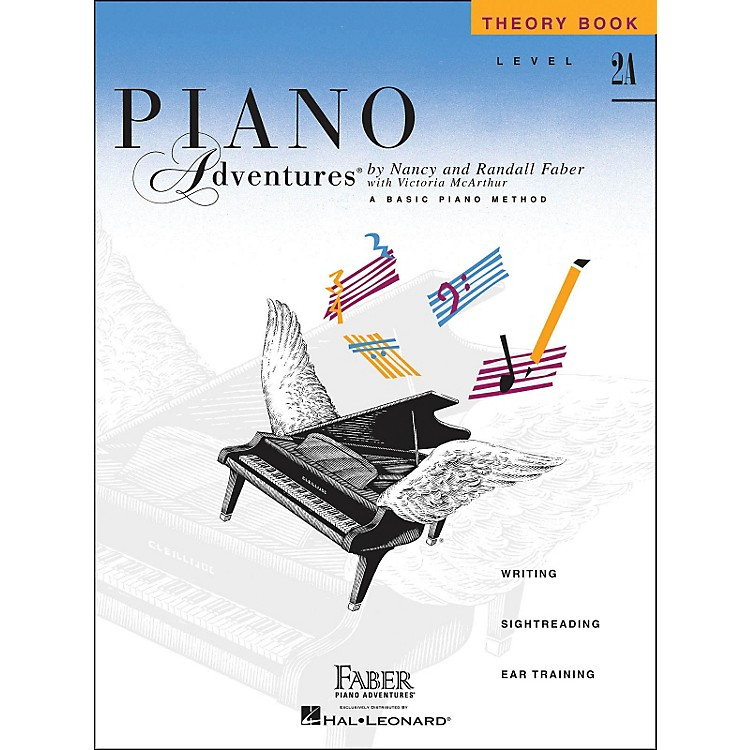 Faber Music Piano Adventures Theory Book Level 2A Basic Piano Method
