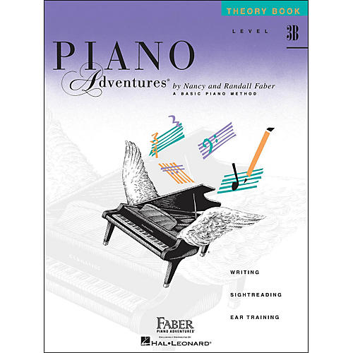 Faber Piano Adventures Piano Adventures Theory Book Level 3B