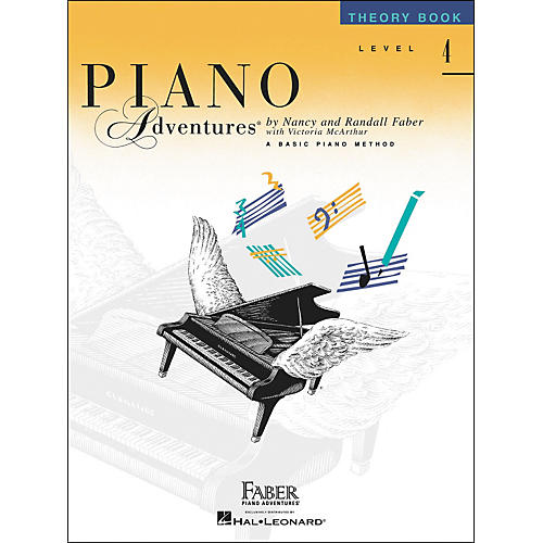 Faber Piano Adventures Piano Adventures Theory Book Level 4 - Faber Piano