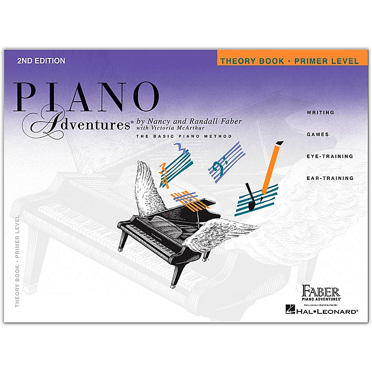 Faber Music Piano Adventures Theory Book Primer Level