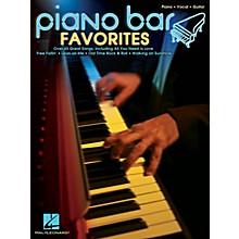 Hal Leonard Piano Bar Favorites Piano/Vocal/Guitar Songbook