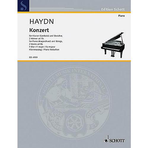 Schott Piano Concerto F Major Schott Series-thumbnail