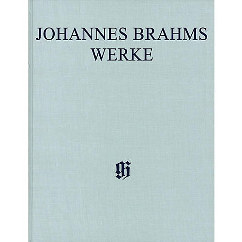 G. Henle Verlag Piano Concerto No. 2 in B-flat Major, Op. 83 Henle Complete Edition Series Hardcover by Johannes Brahms