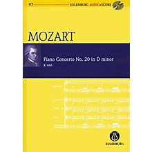 Schott Piano Concerto No. 20 in D Minor Study Score Series Softcover with CD Composed by Wolfgang Amadeus Mozart