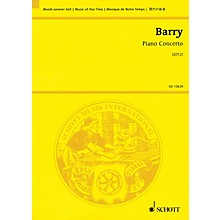 Schott Piano Concerto Study Score Series Softcover Composed by Gerald Barry
