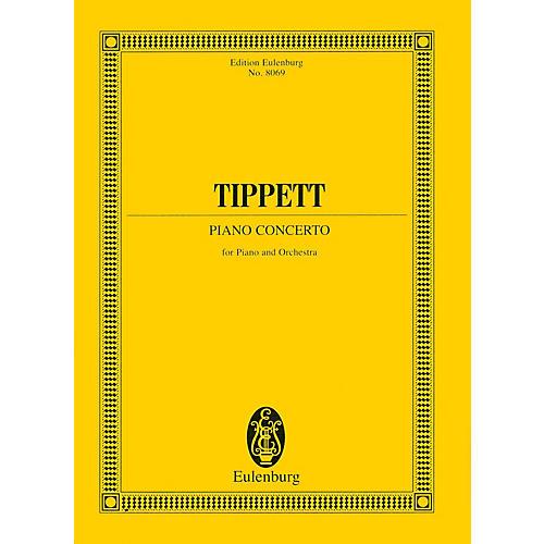 Eulenburg Piano Concerto (Study Score) Study Score Series Composed by Michael Tippett-thumbnail