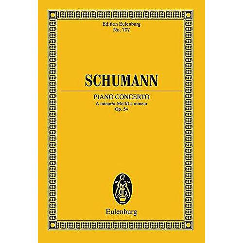 Eulenburg Piano Concerto in A minor, Op. 54 Schott Series-thumbnail