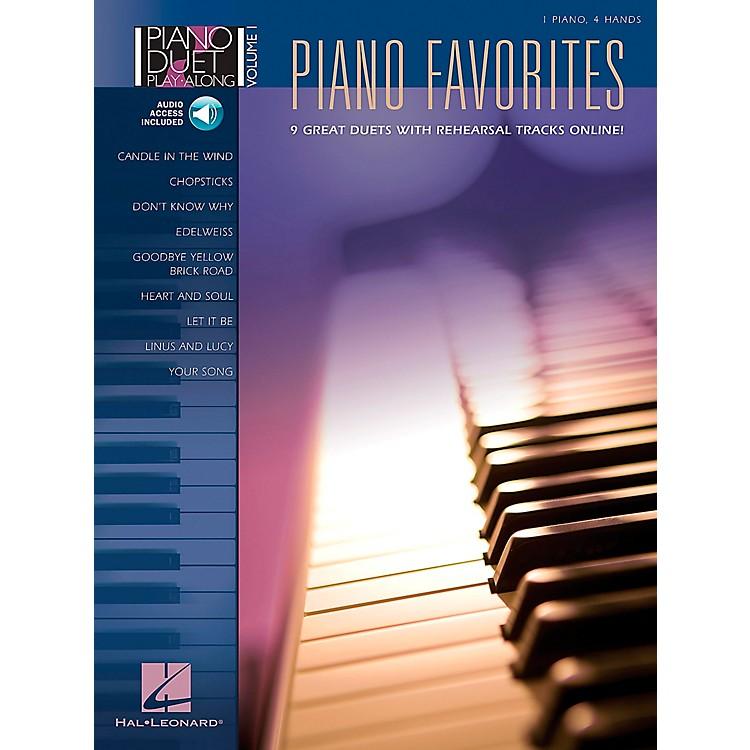 Hal LeonardPiano Favorites Volume 1 Book/CD 1 Piano 4 Hands