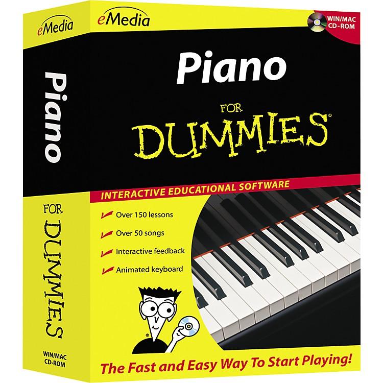eMediaPiano For Dummies Level 1 (CD-ROM)