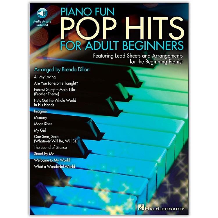 Hal LeonardPiano Fun - Pop Hits For Adult Beginners Book/CD