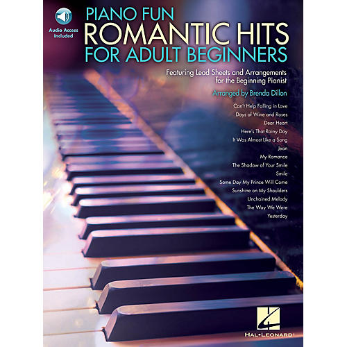 Hal Leonard Piano Fun - Romantic Hits for Adult Beginners Educational Piano Library Series Softcover Audio Online-thumbnail