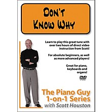 Hal Leonard Piano Guy 1-On-1 Series - Don't Know Why (DVD)