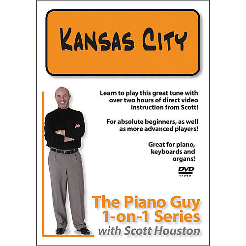 Hal Leonard Piano Guy 1-On-1 Series Kansas City DVD