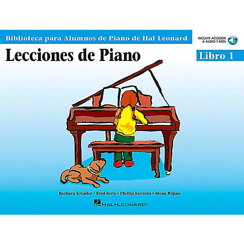 Hal Leonard Piano Lessons Book 1 Book/CD Package - Spanish Edition