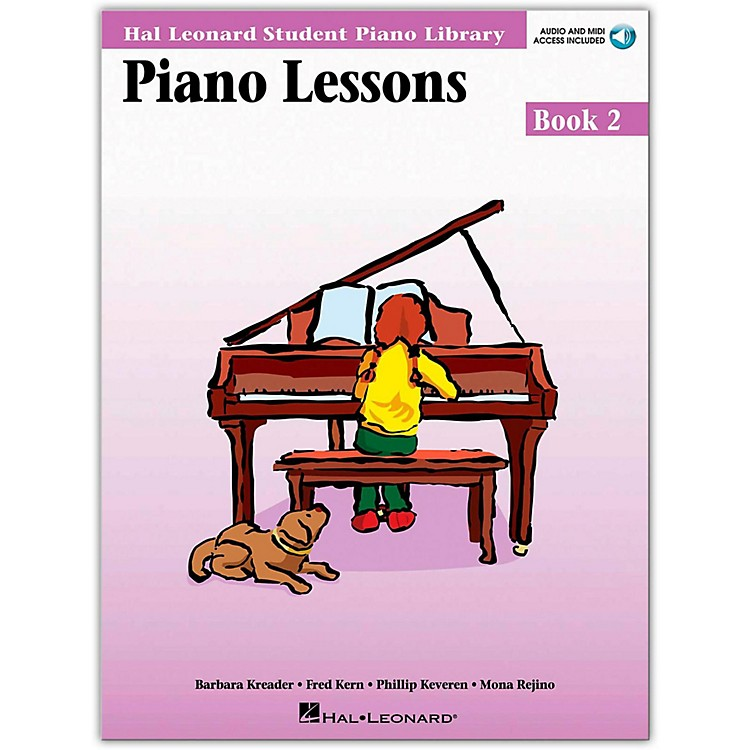 Hal Leonard Piano Lessons Book 2 Book/CD Package Hal Leonard Student Piano Library