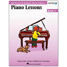 Hal Leonard Piano Lessons Book 2 Book/Online Audio Package