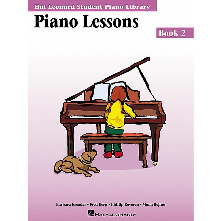 Hal LeonardPiano Lessons Book 2 Hal Leonard Student Piano Library