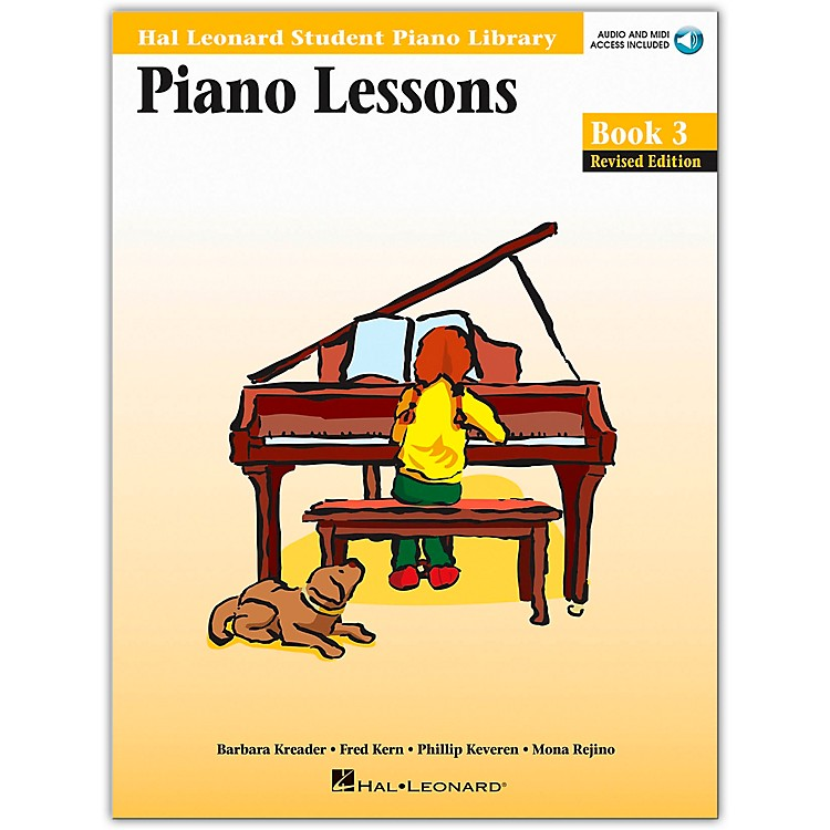 Hal LeonardPiano Lessons Book 3 Book/CD Package Hal Leonard Student Piano Library